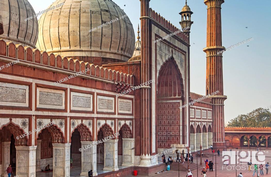 Imagen: Jama Masjid mosque, Delhi, India.