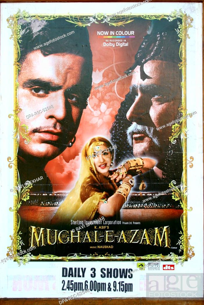 Stock Photo: Bollywood ' Mugal-E-Azam ' , Bombay Mumbai , Maharashtra , India.