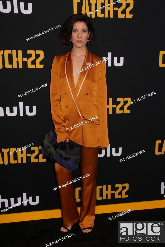 "Stock Photo: Tessa Ferrer 05/07/2019 The U.S. Premiere of Hulu's """"CATCH-22"""" held at The TCL Chinese Theatre in Los Angeles, CA Photo by I."