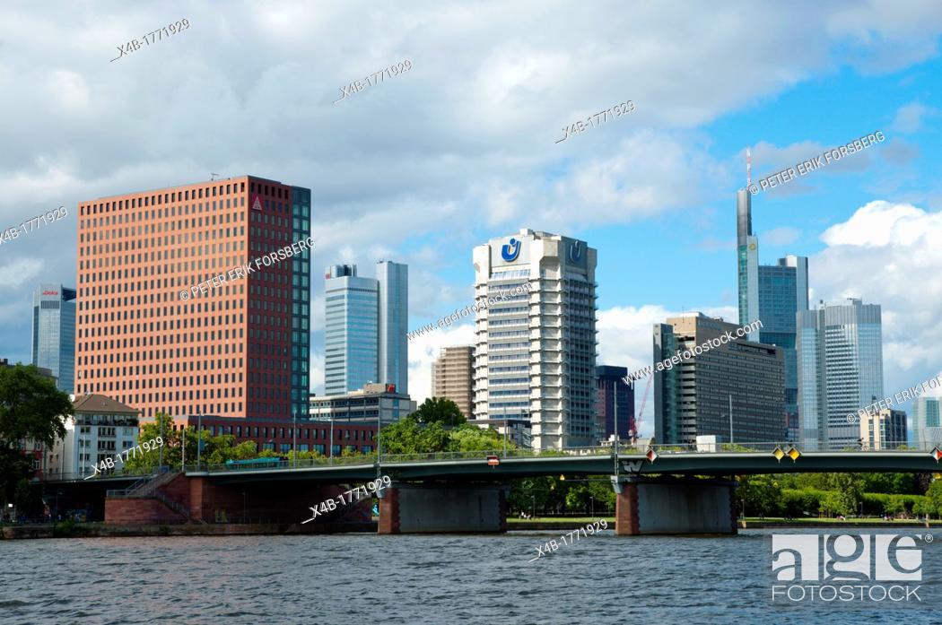 Stock Photo: Frankfurt am Main state of Hesse Germany Europe.