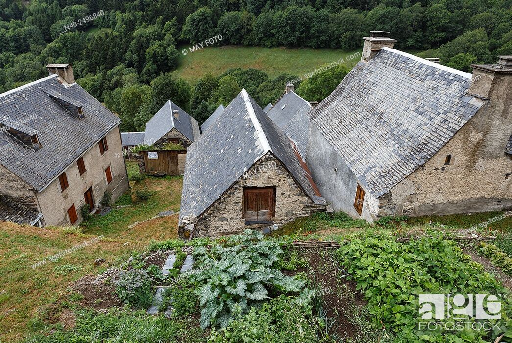 Stock Photo: Aulon, Arreau, France.