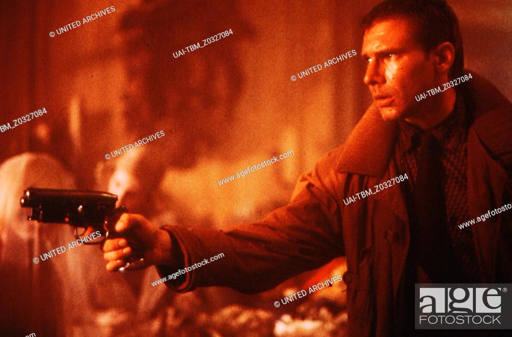 Stock Photo: Blade Runner / Harrison Ford / Blade Runner (Director's Cut).
