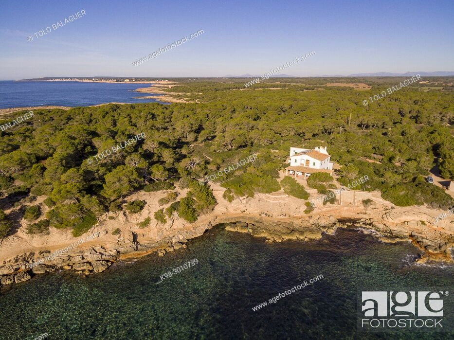 Imagen: punta Plana, s'Estelella, llucmajor, Mallorca, balearic islands, Spain.