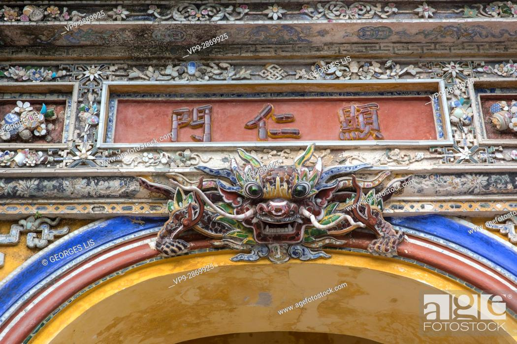 Imagen: dragon Hué Hue Imperial City Vietnam.