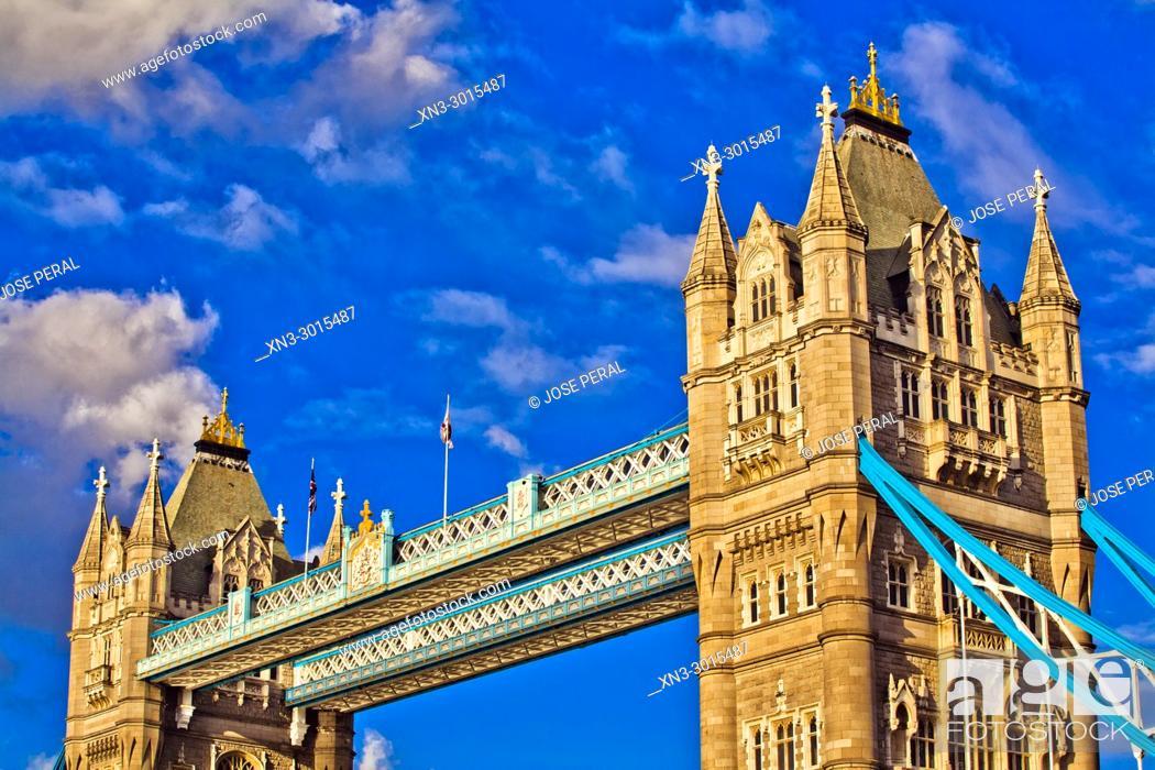 Imagen: Tower Bridge, River Thames, London, England, UK, United Kingdom, Europe.