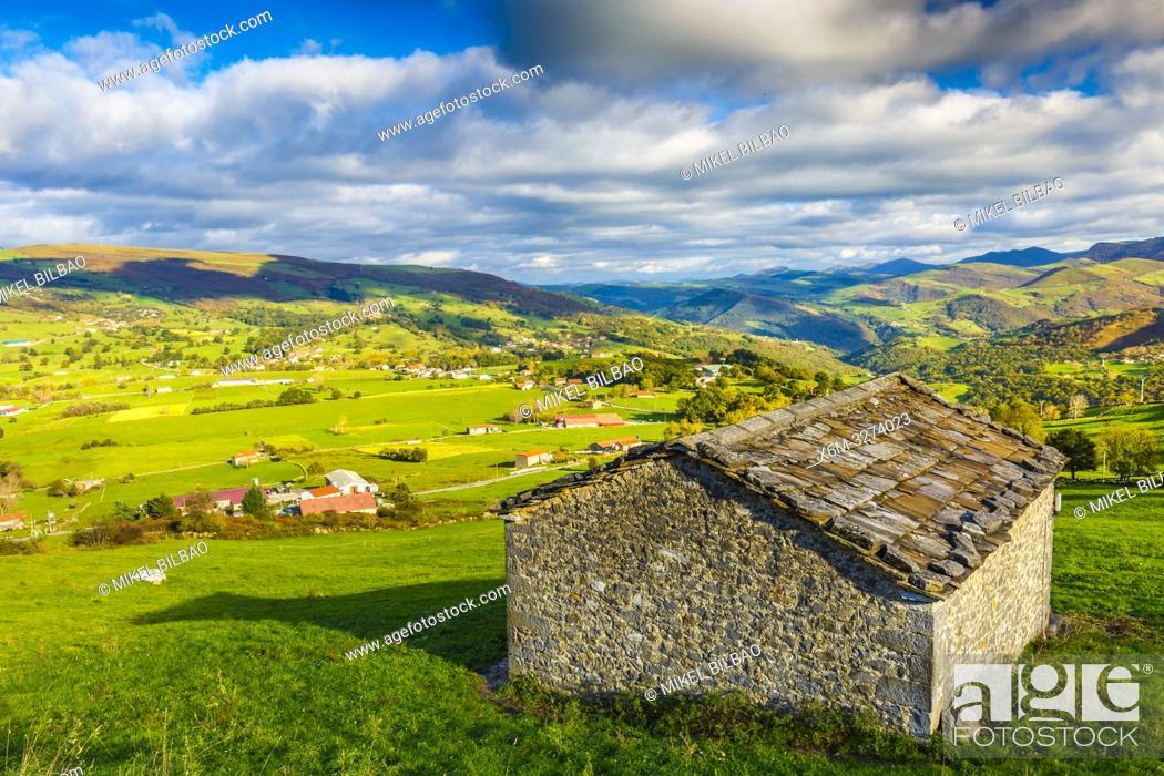 Stock Photo: Soba valley. Cantabria, Spasin, Europe.