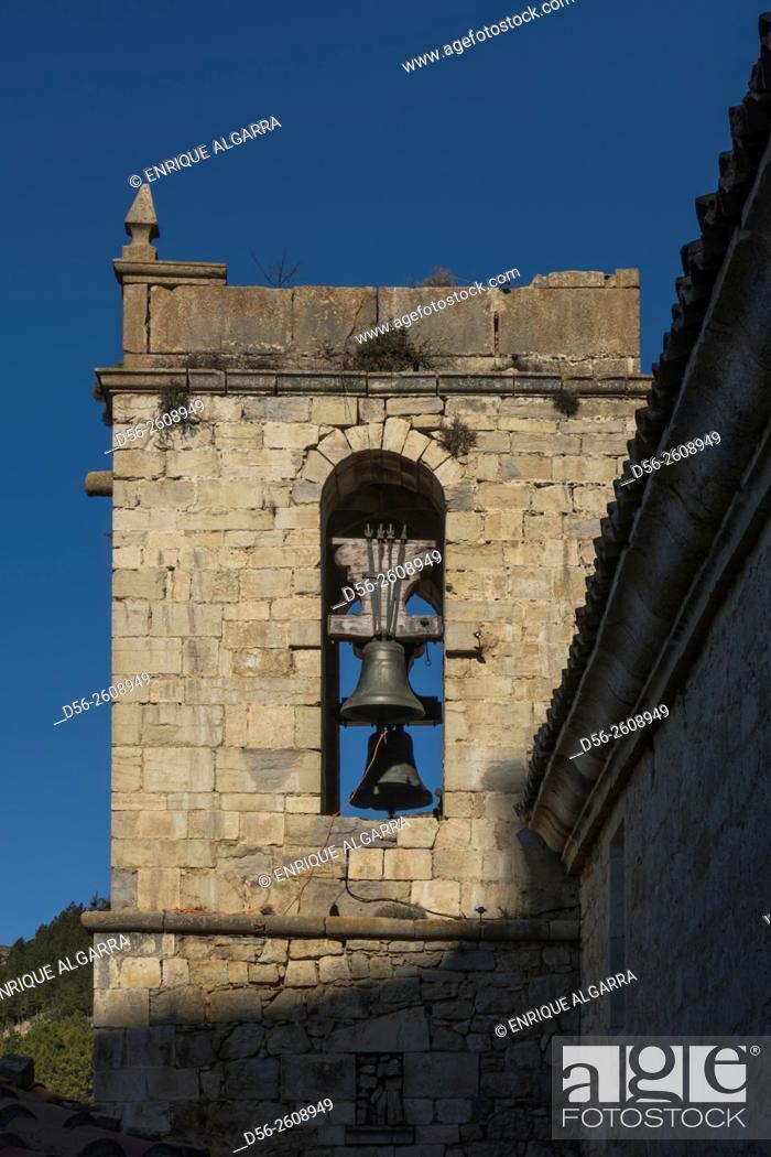 Imagen: Bell Tower, Ares del Maestre, Castellon province, Spain.