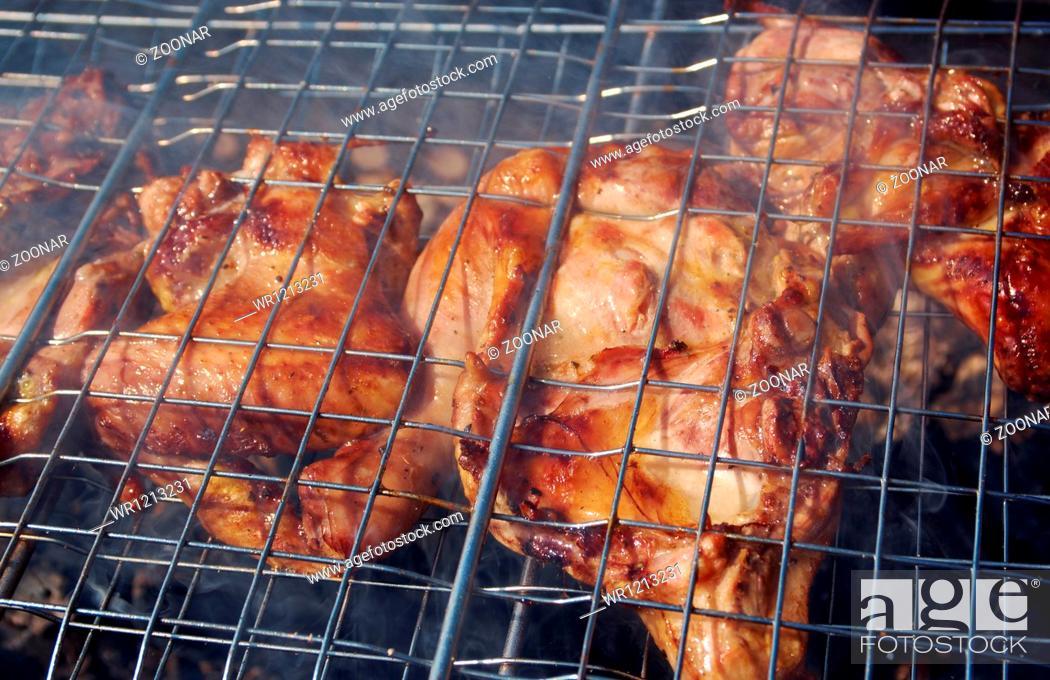 Stock Photo: barbecue.chicken.