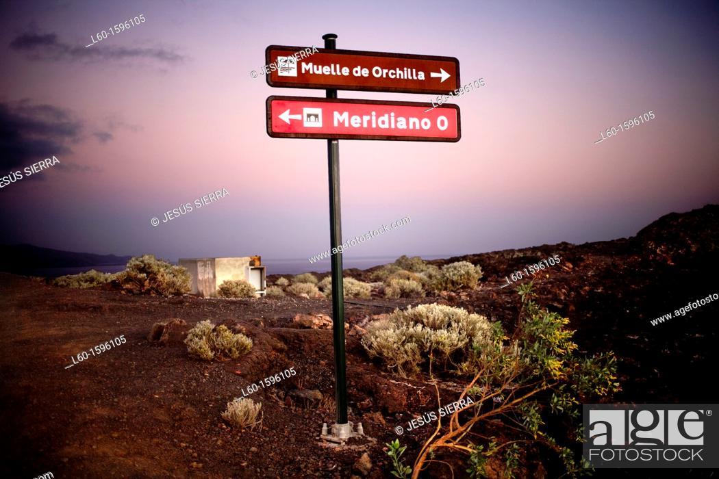 Stock Photo: El Hierro, Canary Islands, Spain.