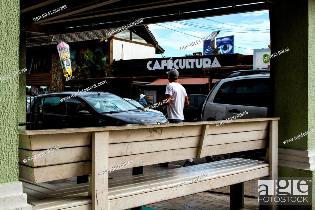 Urban Scene At Conceicao Lagoon Neighborhood Florianopolis Santa
