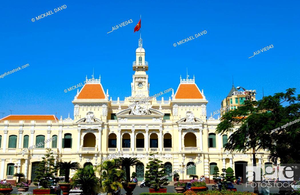 Stock Photo: Vietnam - Ho Chi Minh-City Sa'gon - City Hotel.