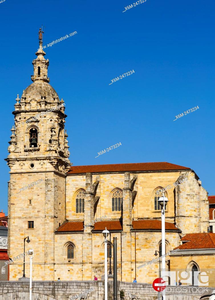 Imagen: San Anton church. Bilbao. Biscay, Spain, Europe.