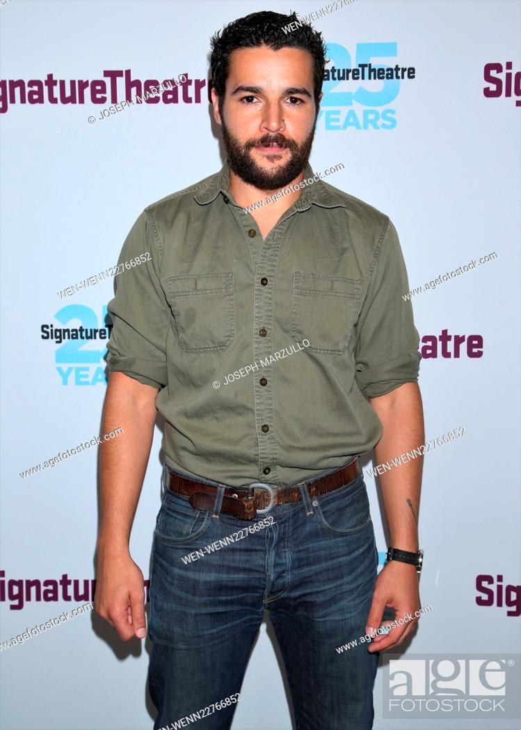 Imagen: Opening night party for the play John at the Signature Theatre - Arrivals. Featuring: Christopher Abbott Where: New York City, New York.