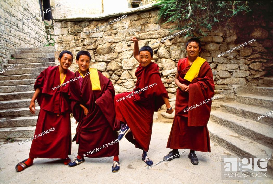 Stock Photo: Drepung monastery  Lhasa  Tibet  China.
