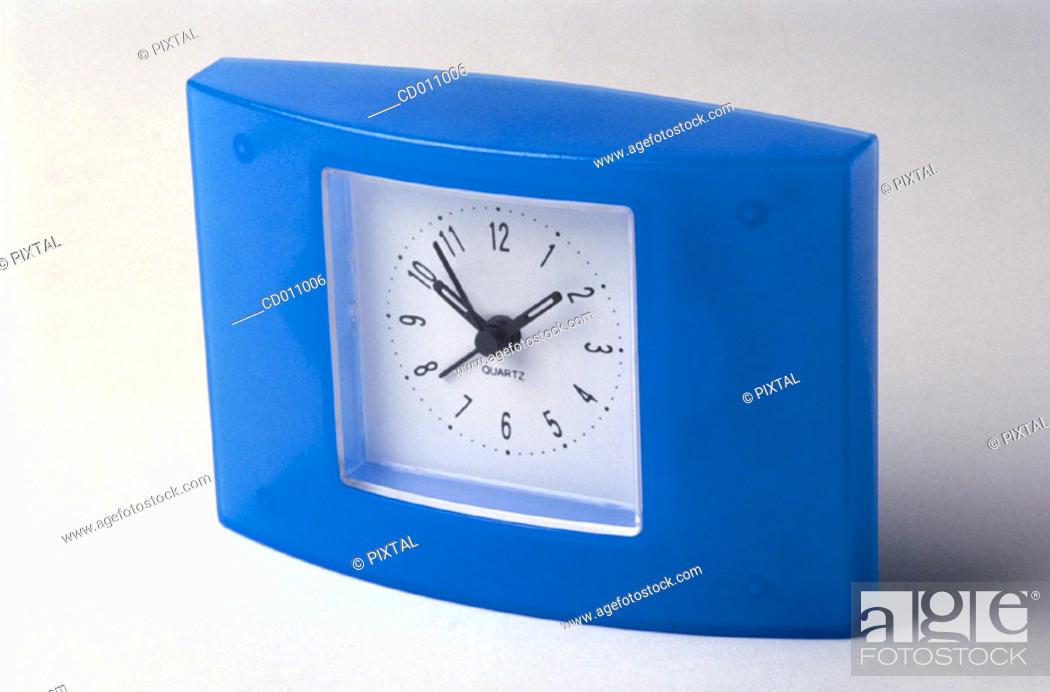 Stock Photo: Alarm clock.