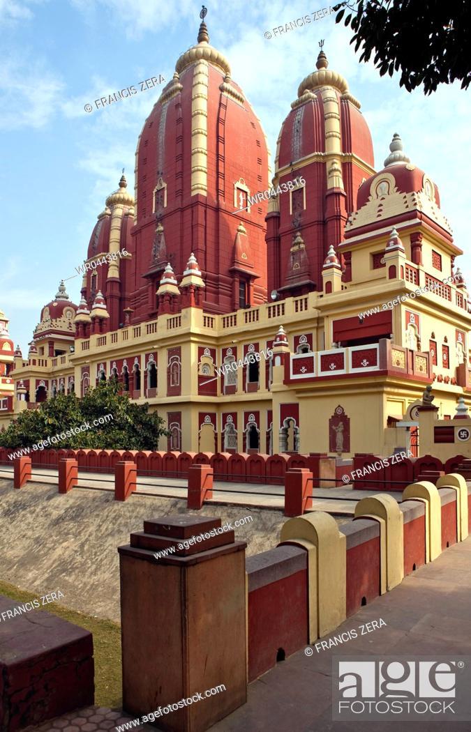 Imagen: Birla Temple in Dehli.