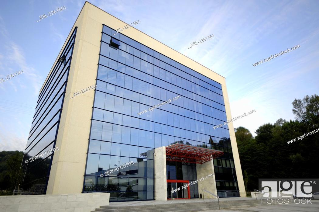 Stock Photo: offices in the technological park Zuatzu, San Sebastian, Guipuzcoa.