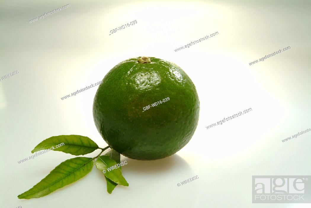 Stock Photo: Food, fruit, lemon.