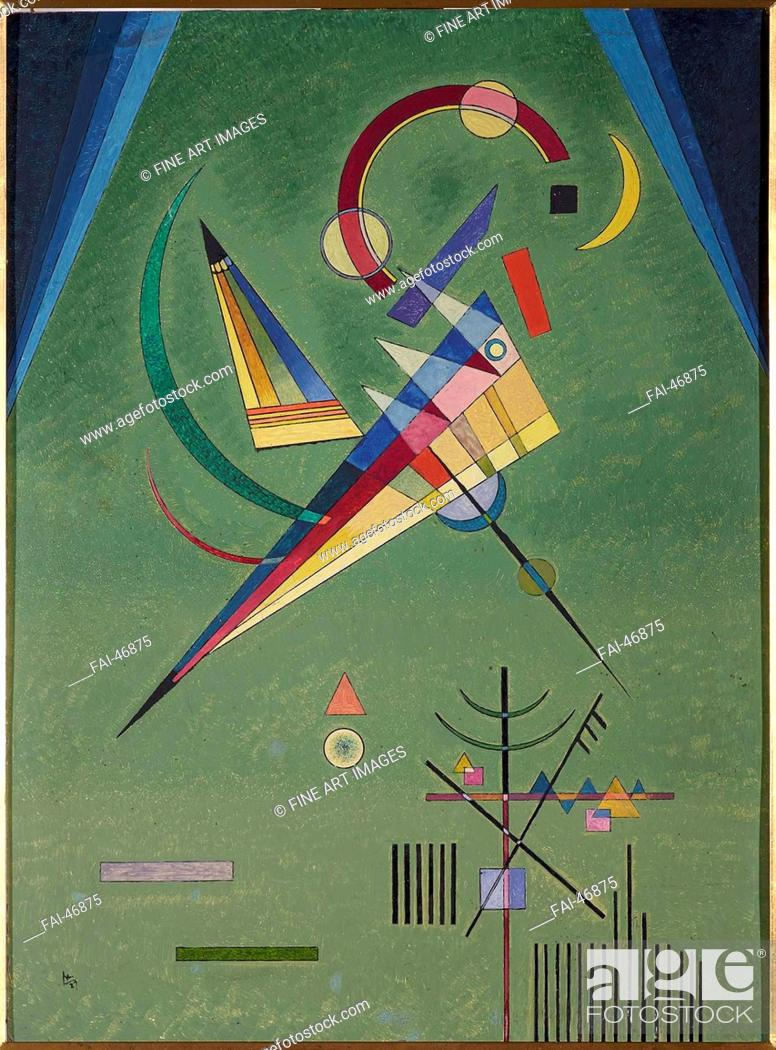 Stock Photo: Free by Kandinsky, Wassily Vasilyevich (1866-1944)/Oil on cardboard/Abstract expressionism/1927/Russia/Museo Nacional Centro de Arte Reina Sofía.