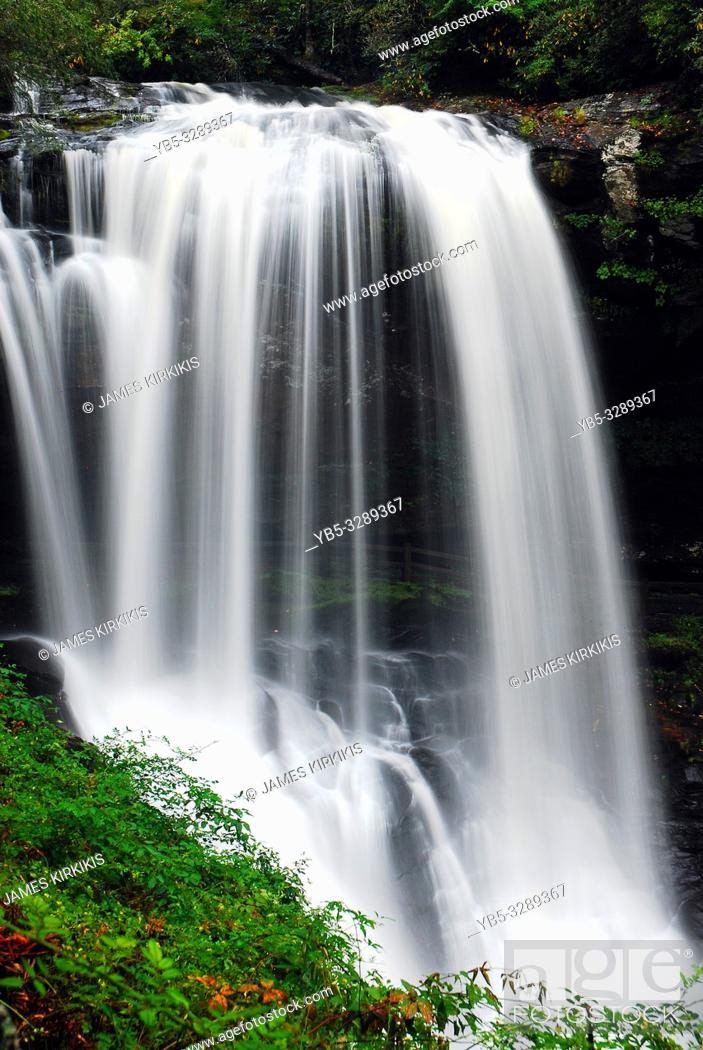 Stock Photo: Dry Falls in Nantahala National Forest, North Carolina.