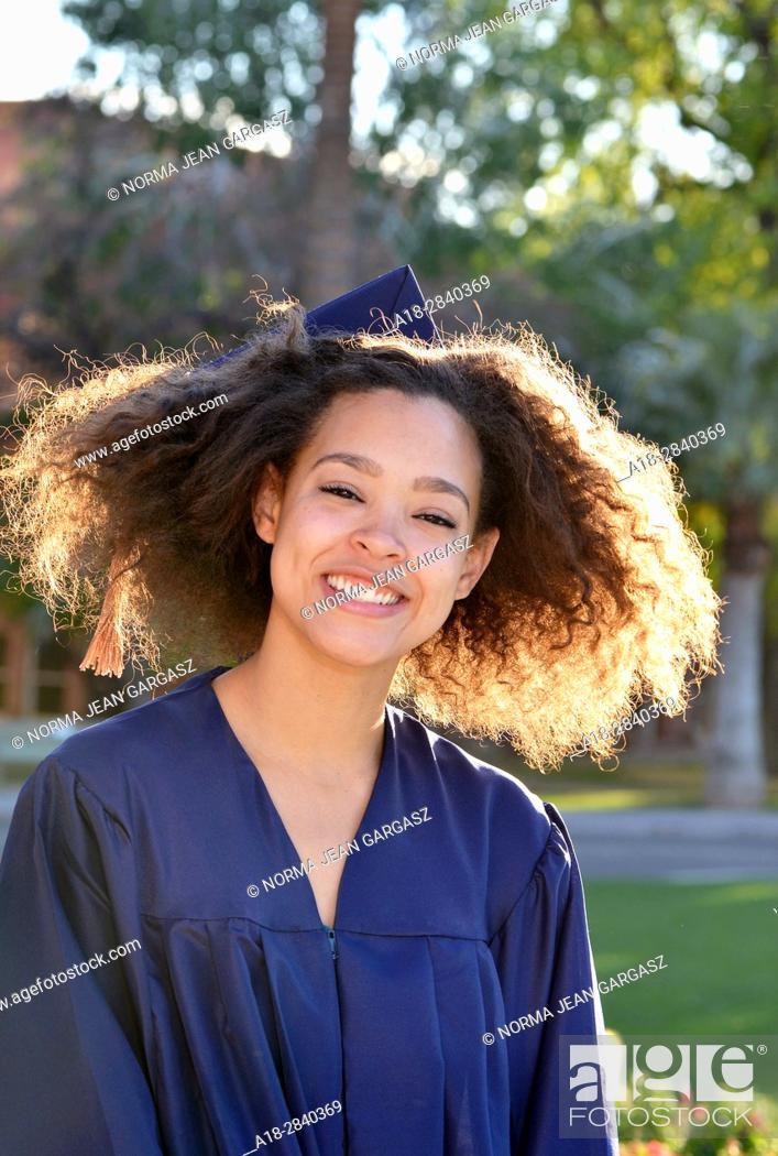 Stock Photo: College graduate, business degree, University of Arizona, Tucson, Arizona, USA.