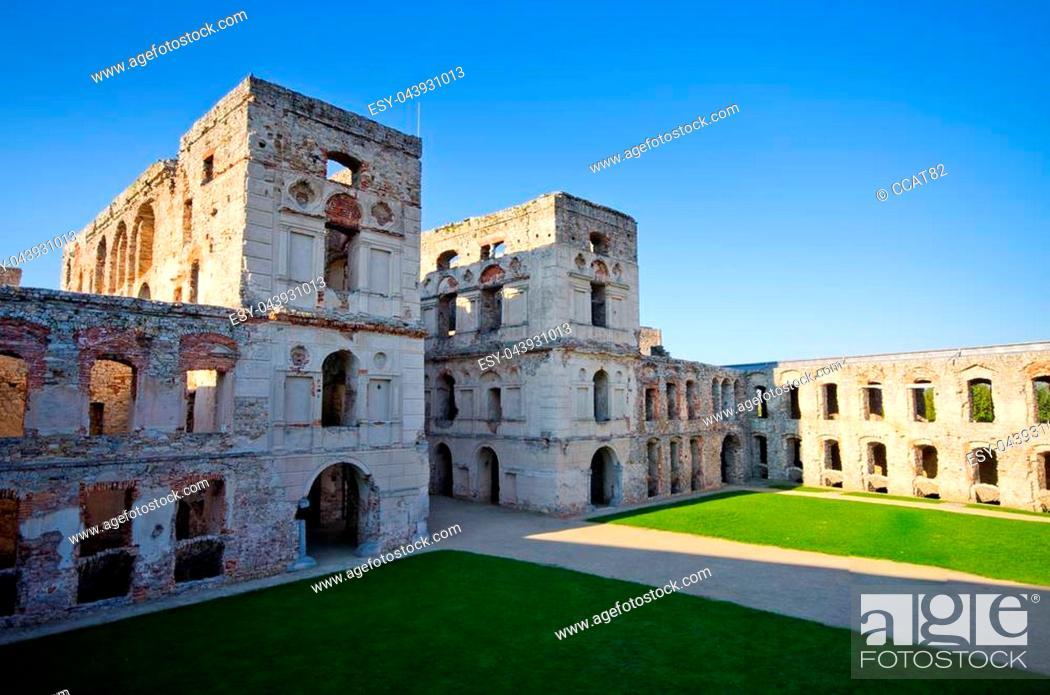 Stock Photo: Ruins of Krzyztopor castle - Poland.