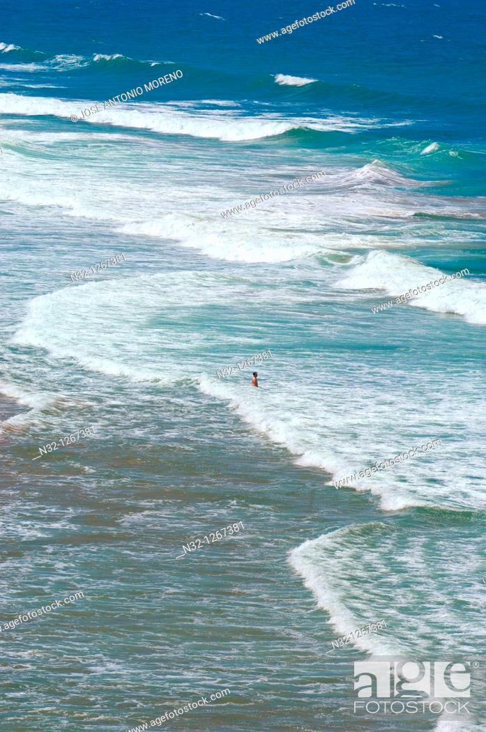 Stock Photo: Ericeira, Praia do São Julião, São Julião Beach, Mafra, Portugal, Europe.