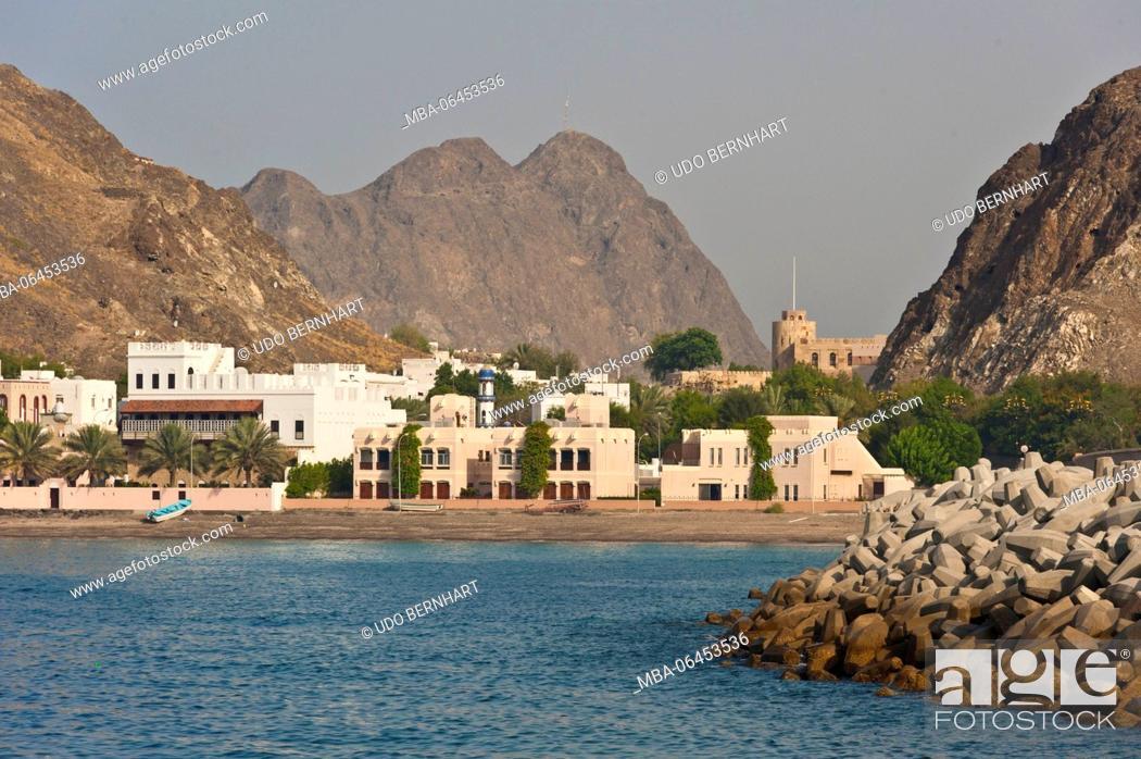 Stock Photo: Arabia, Arabian peninsula, Sultanate of Oman, Muscat, Kalbuh park.