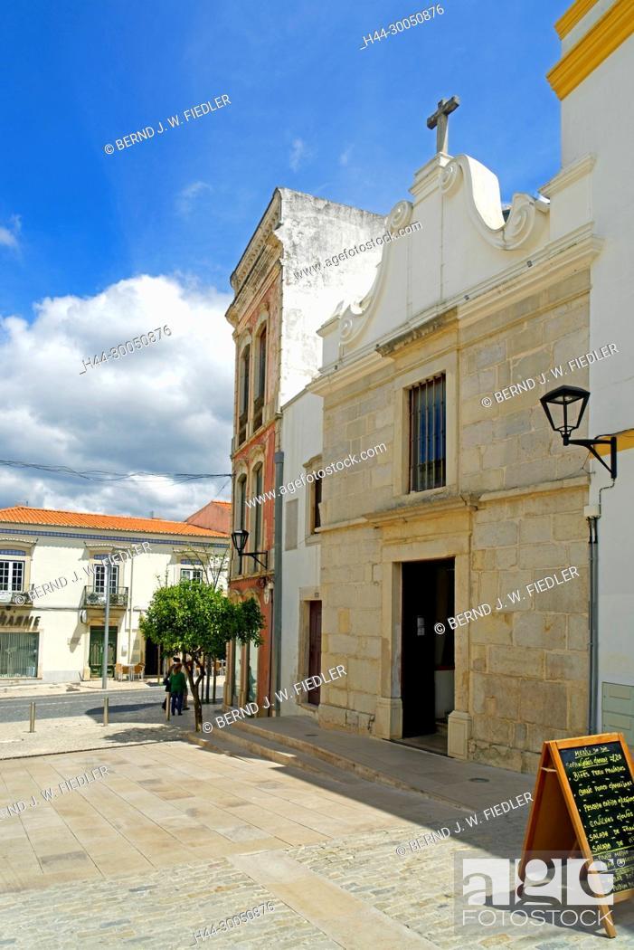 Stock Photo: Capela de Nossa Senhora da Conceiç ã o, Loulé Portugal,.