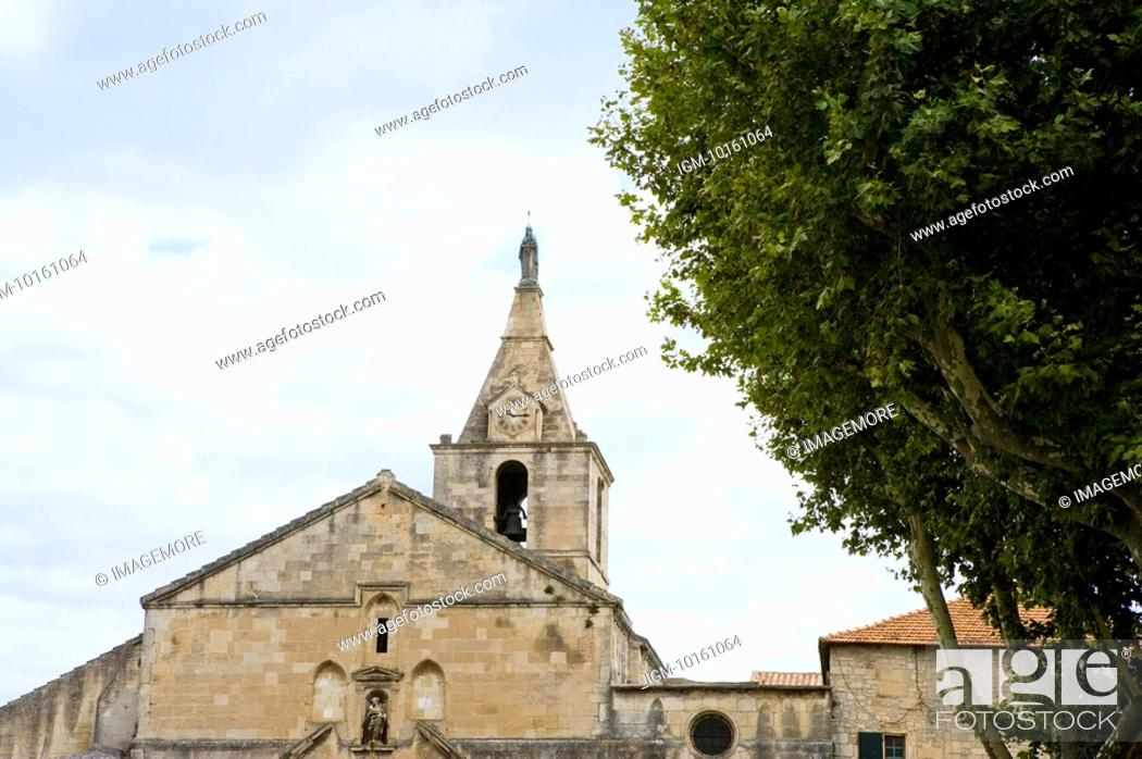 Stock Photo: Church in Arles, Provence-Alpes-Cote d'Azur, France.