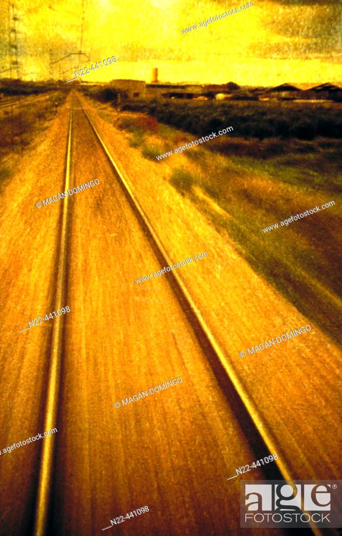 Photo de stock: Tracks.