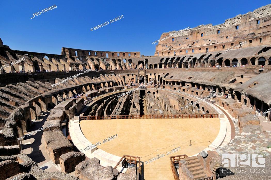 Stock Photo: Coliseum at night, ROME.