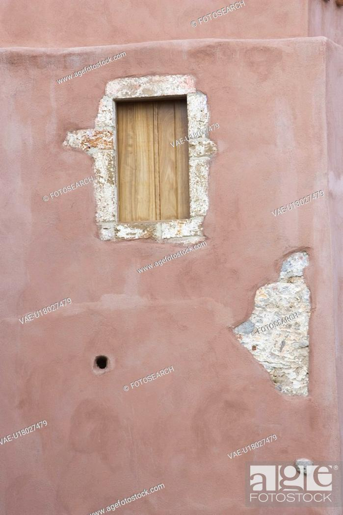 Stock Photo: Building Exterior, Close-Up, Closed, Building Structure, Architectural Feature.