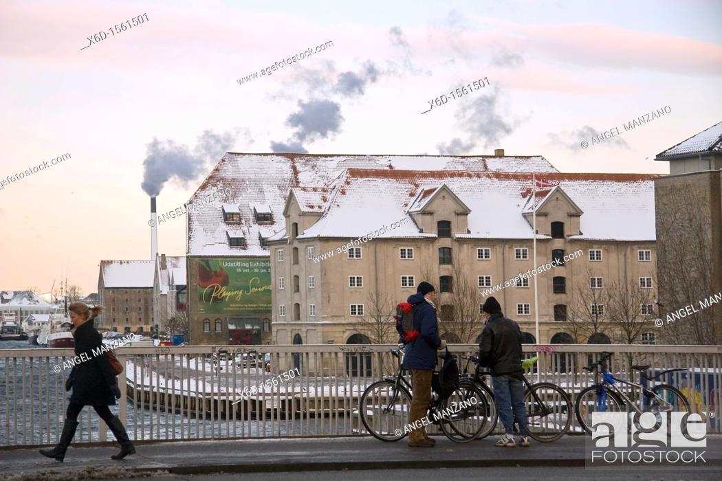 Stock Photo: Urban scene, Copenhague.
