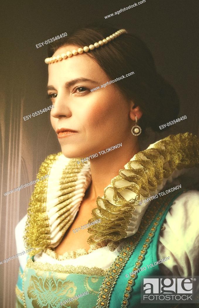Stock Photo: Power. Fashion style female portrait.