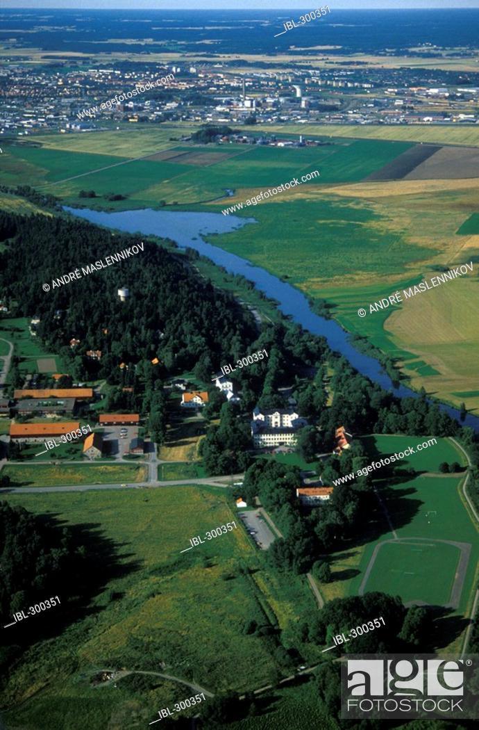 Stock Photo: Agricultural college, SLU, Sweden.