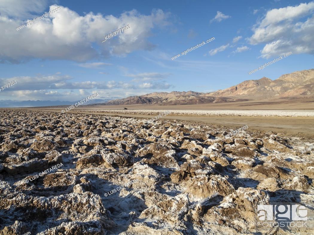 Stock Photo: Death Valley National Park. California. USA.