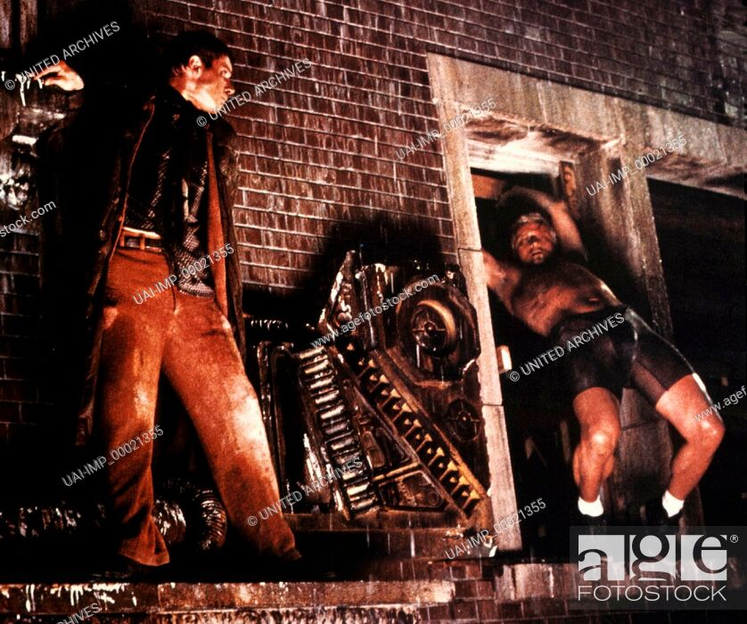 Stock Photo: Blade Runner, (BLADE RUNNER) USA 1982, Regie: Ridley Scott, HARRISON FORD, RUTGER HAUER, Key: Kampf, Gefecht.