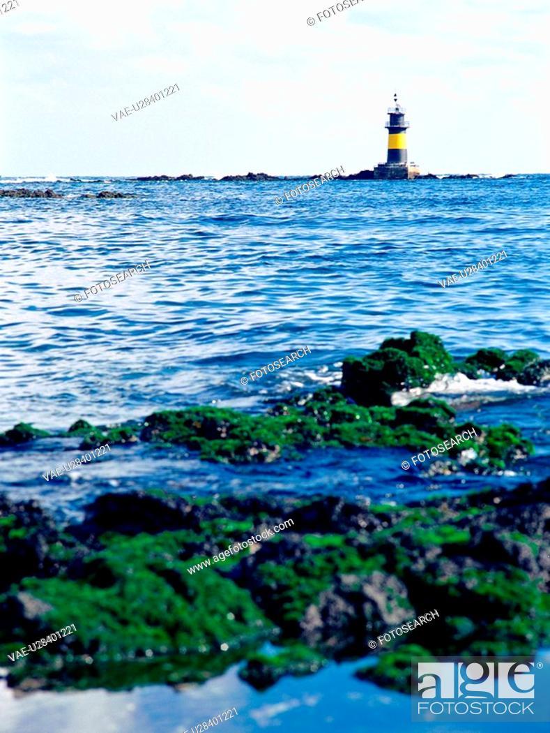 Stock Photo: scenery, scene, sky, sea, film.