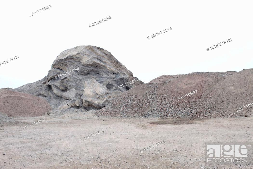 Stock Photo: View of a quarry.