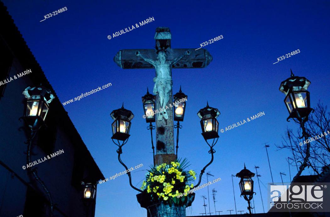 Stock Photo: Cristo de los Faroles in Cordoba. Andalusia. Spain.