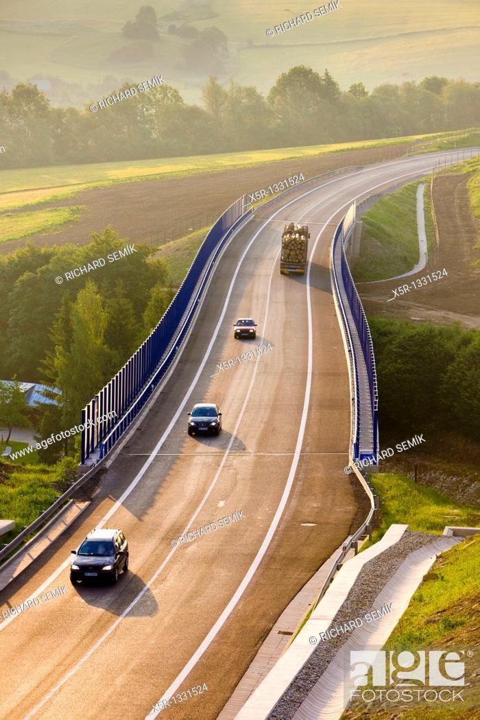 Stock Photo: road, Orava, Slovakia.