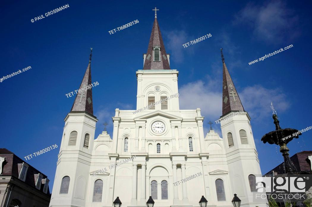 Stock Photo: Saint Louis Cathedral.