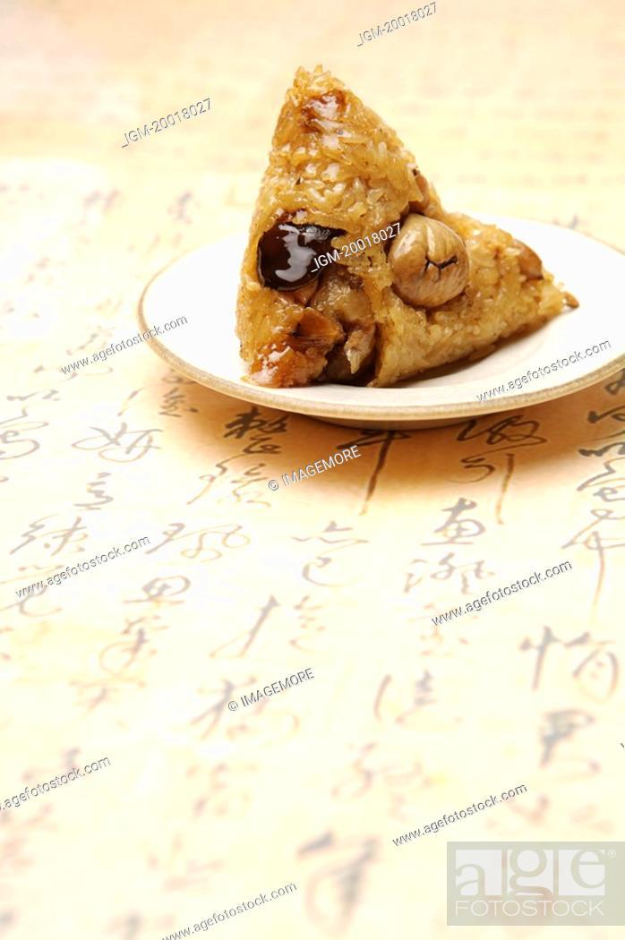 Stock Photo: Chinese Rice Dumpling,.