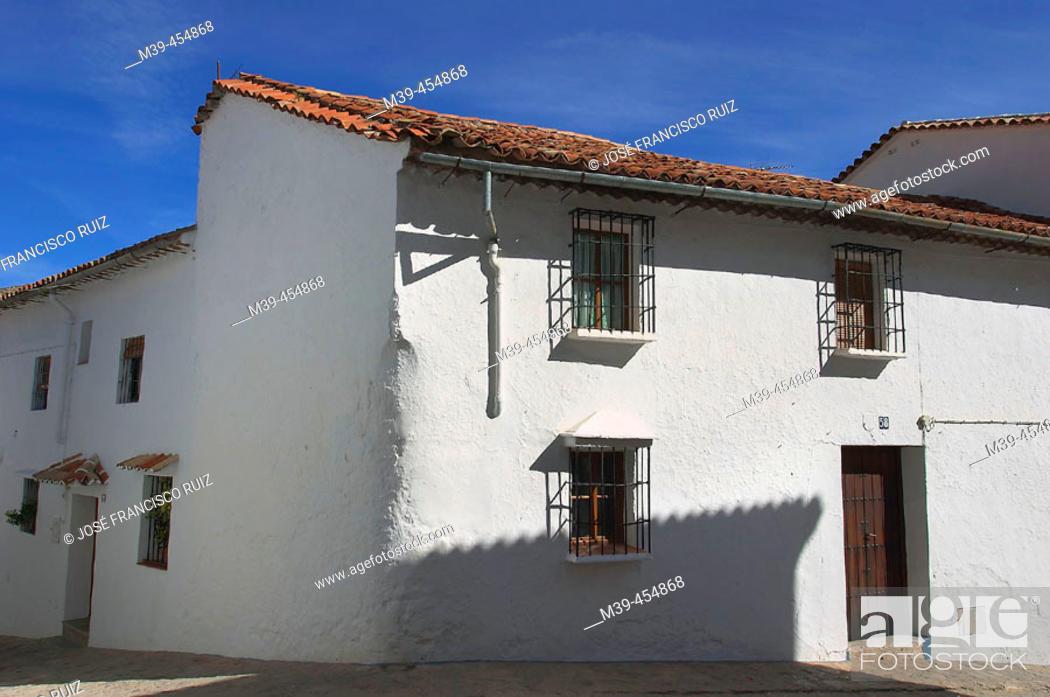 Stock Photo: Grazalema. Cádiz province, Andalusia, Spain.