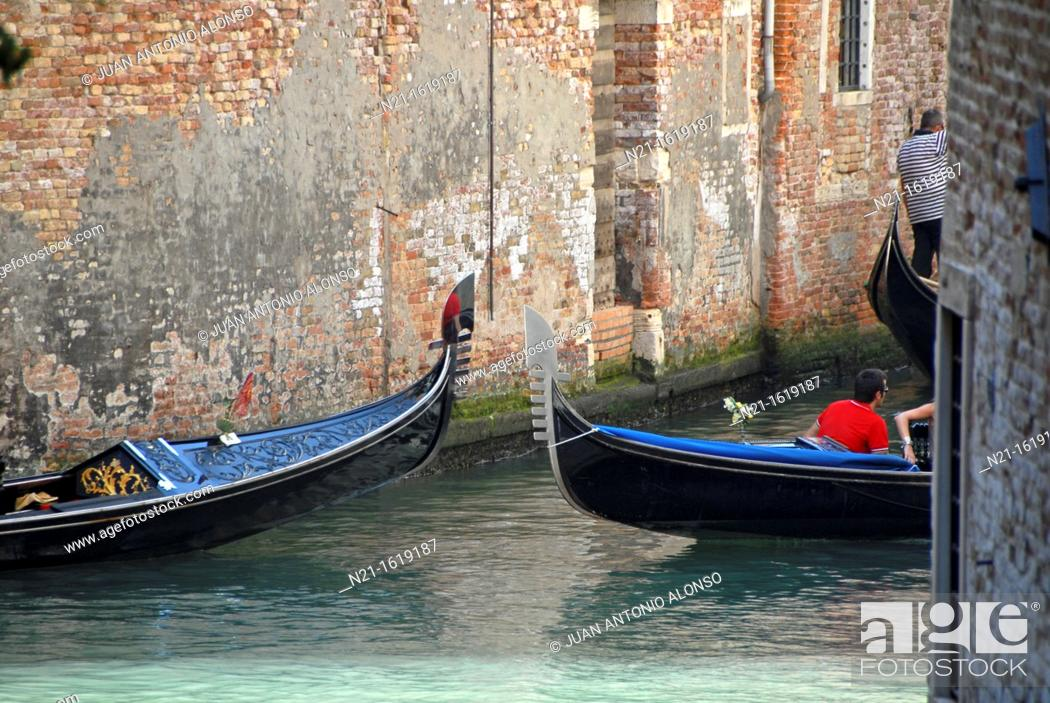 Imagen: Cannarégio sestiere, Venice, Veneto, Italy, Europe.