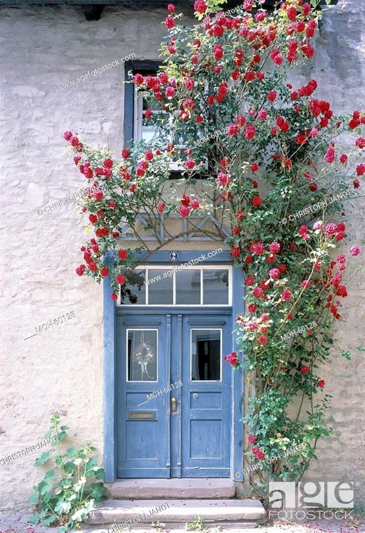 Stock Photo: Detail Eingangstür, eines der ältesten Steinhäuser Westfalens, 1365 erbaut.