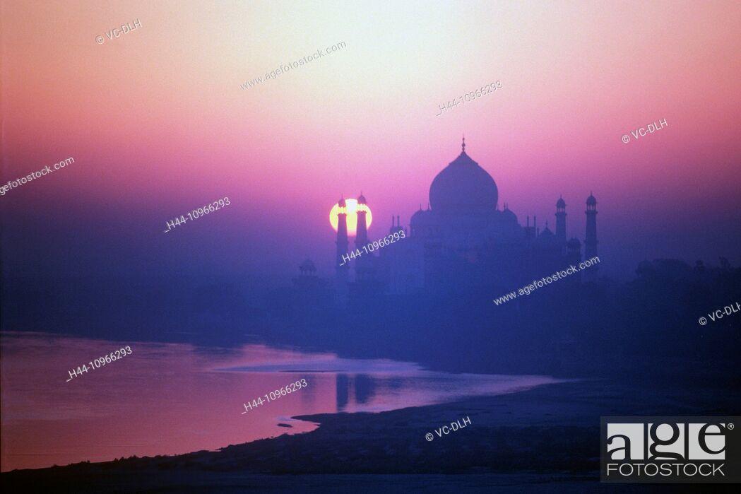 Imagen: Taj Mahal, Agra, India.