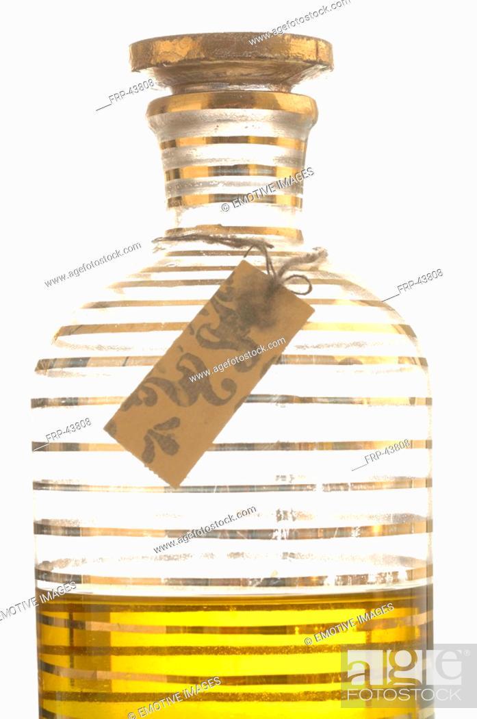 Stock Photo: Cosmetic bottle.