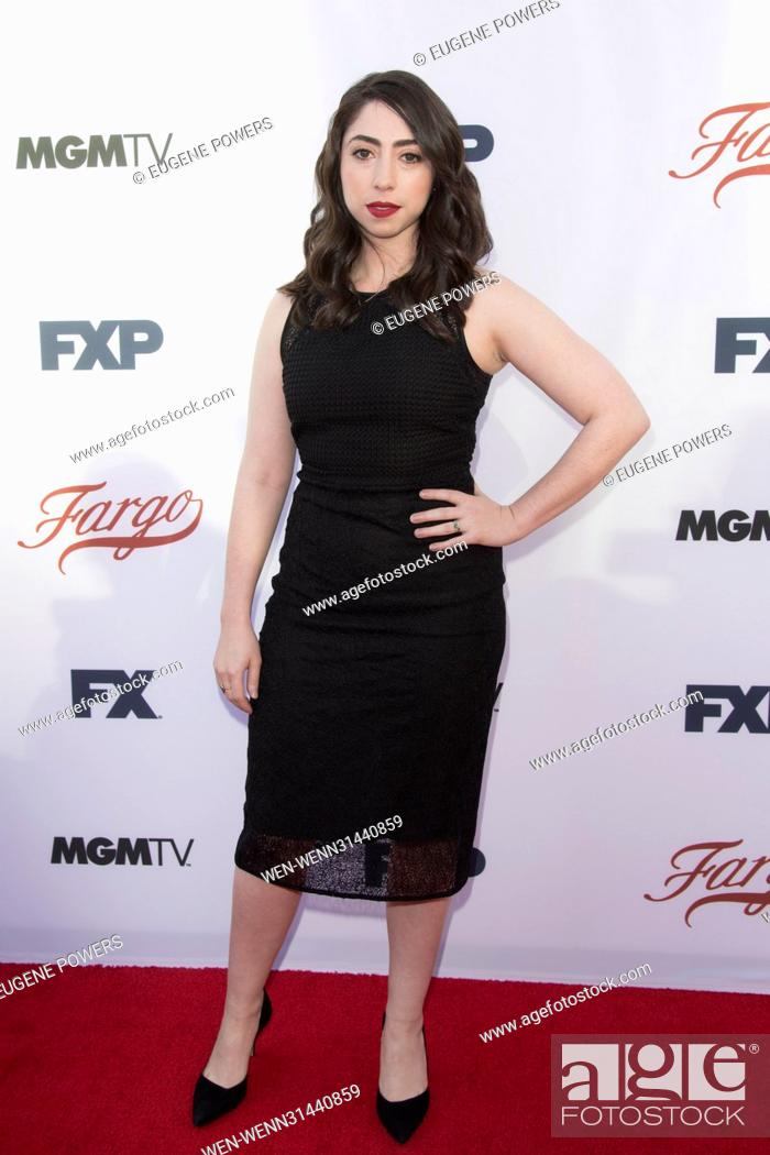 Stock Photo: Olivia Sandoval attending the For Your Consideration Event for 'Fargo' at the Saban Media Center in Los Angeles, California.